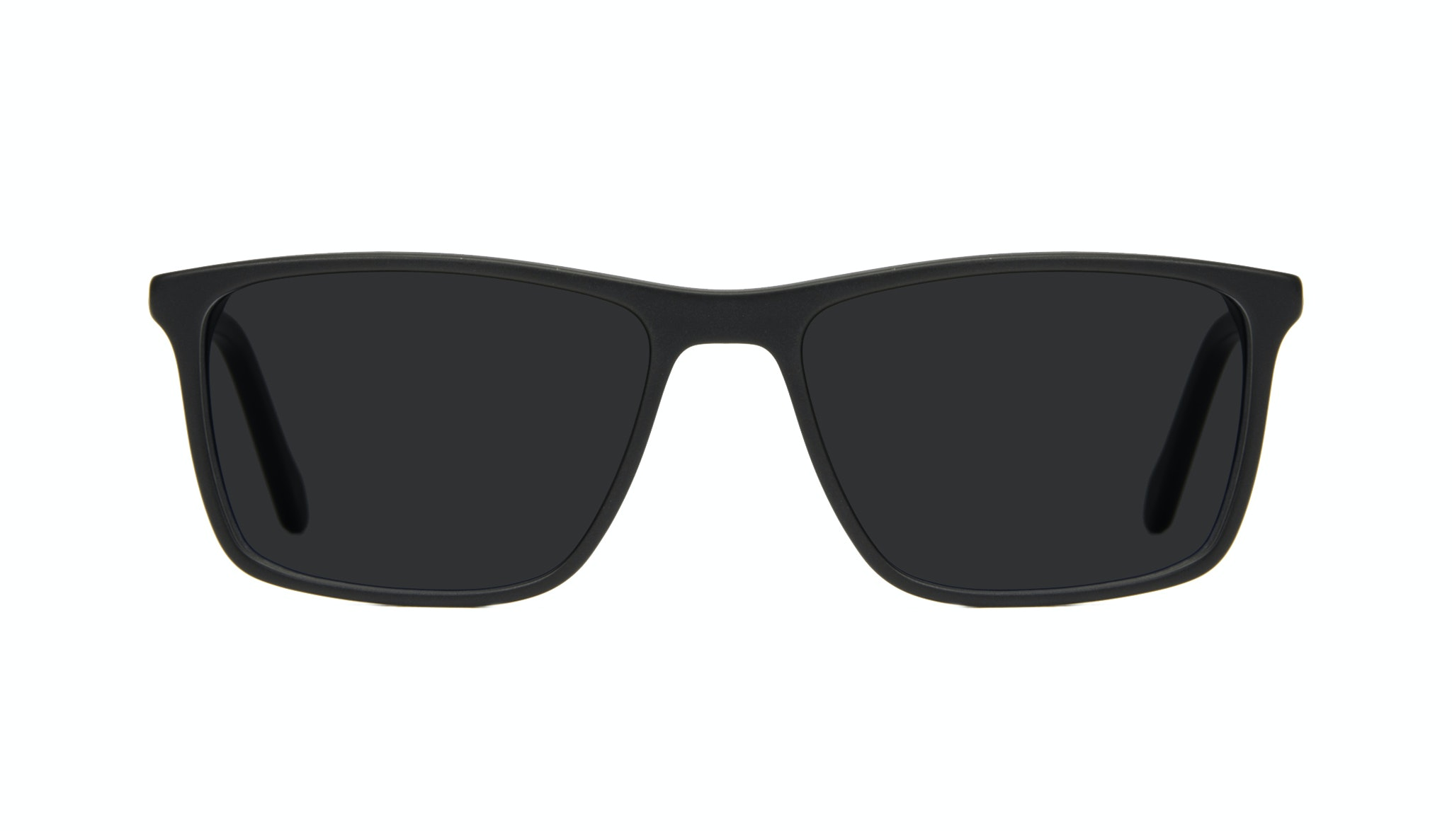 Affordable Fashion Glasses Rectangle Sunglasses Men Skill Matt Black