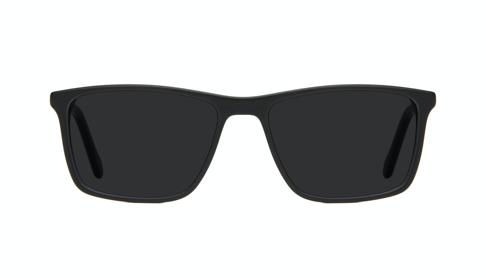 Affordable Fashion Glasses Rectangle Sunglasses Men Skill Matte Black
