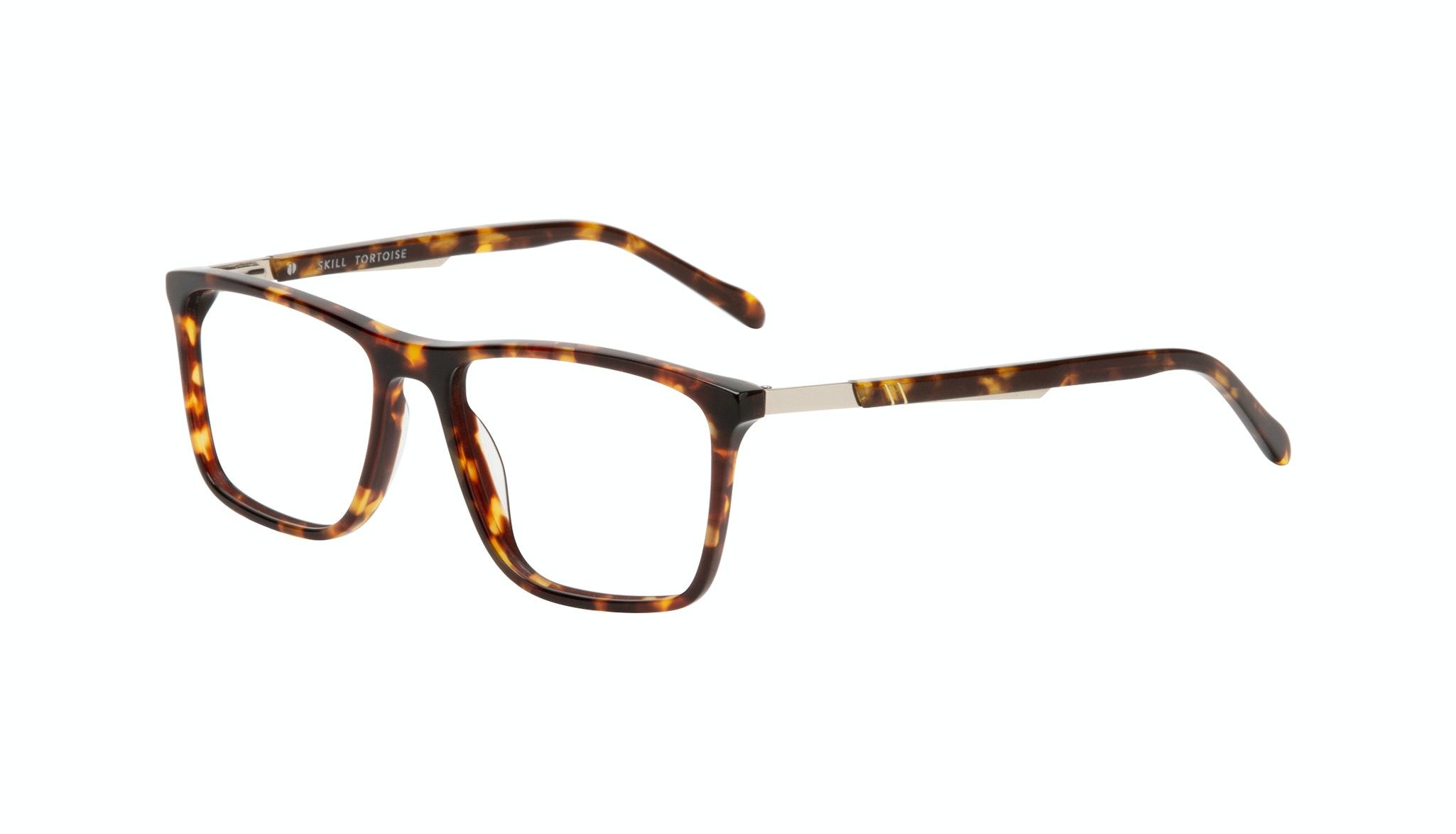 Affordable Fashion Glasses Rectangle Eyeglasses Men Skill Tortoise Tilt