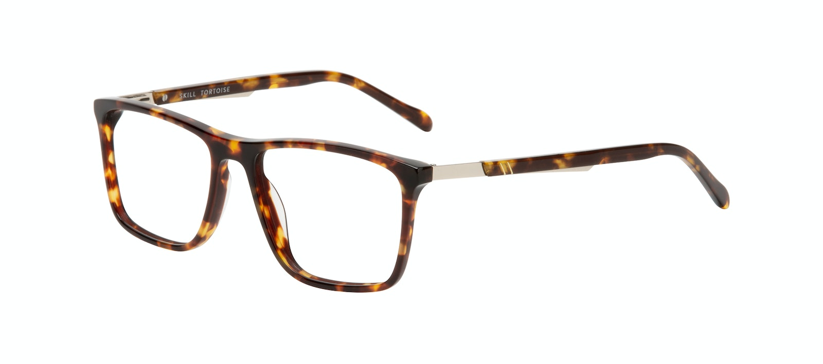Affordable Fashion Glasses Rectangle Eyeglasses Men Skill Tortoise Tilt