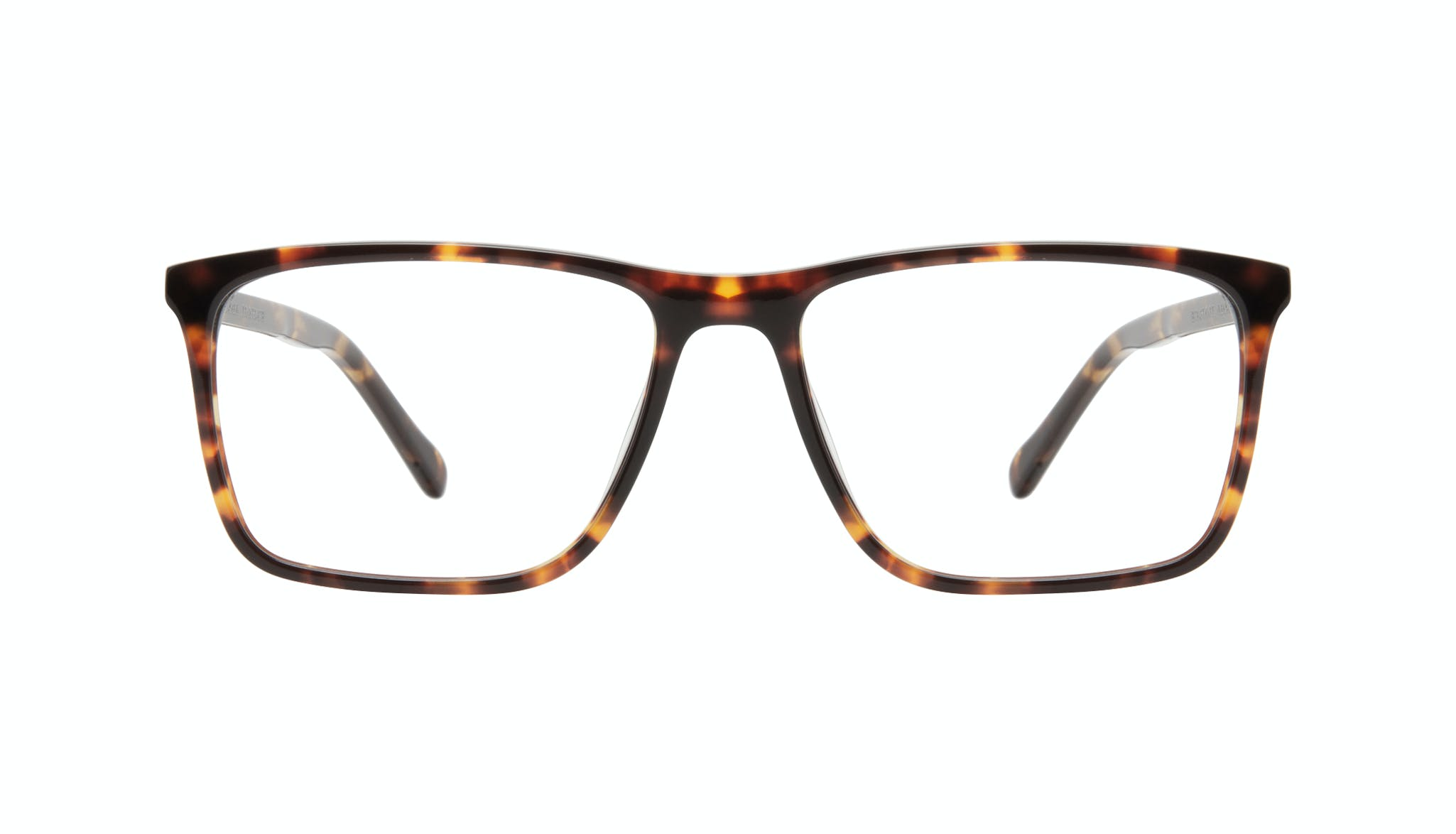 Affordable Fashion Glasses Rectangle Eyeglasses Men Skill Tortoise Front