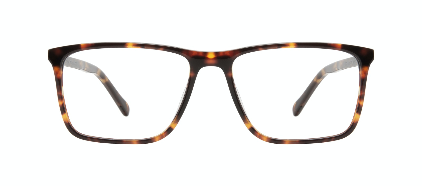 Affordable Fashion Glasses Rectangle Eyeglasses Men Skill Tortoise Front