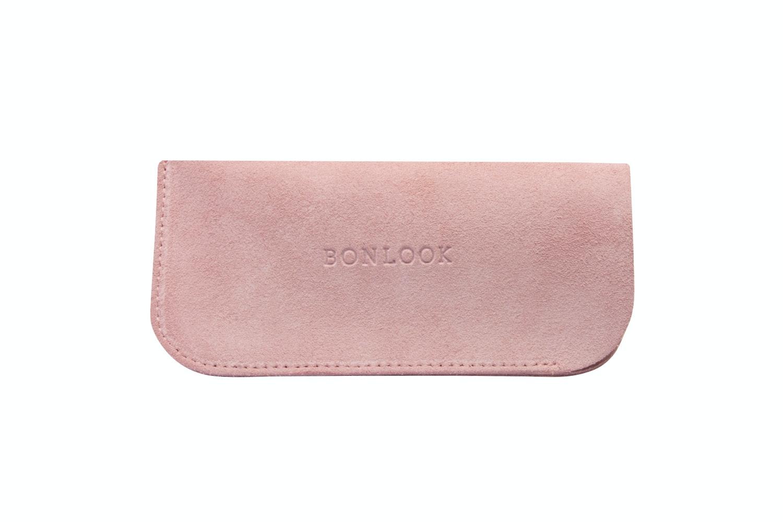 Lunettes tendance Accessoire Hommes Femmes Sleeve Case  Pink Suede