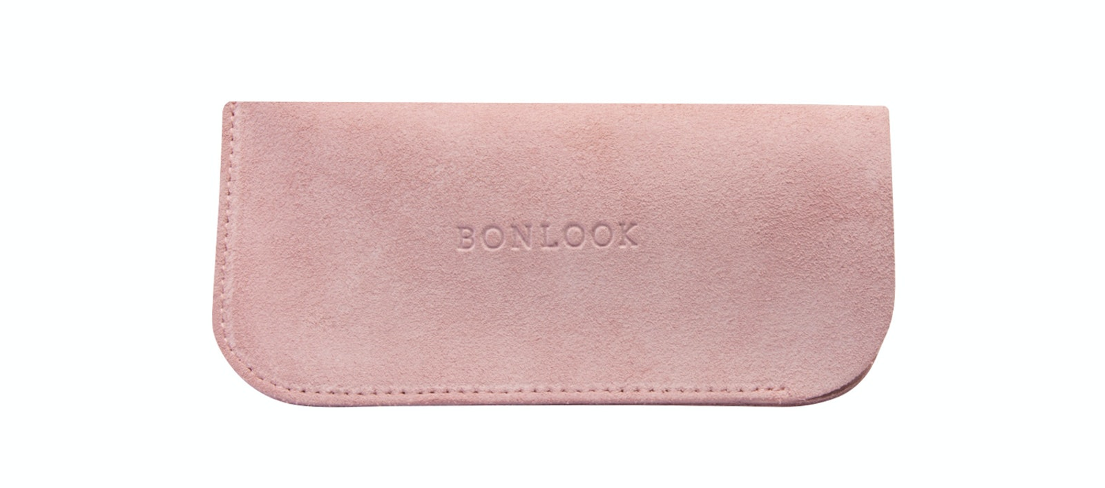Affordable Fashion Glasses Accessory Men Women Sleeve Case  Pink Suede Front