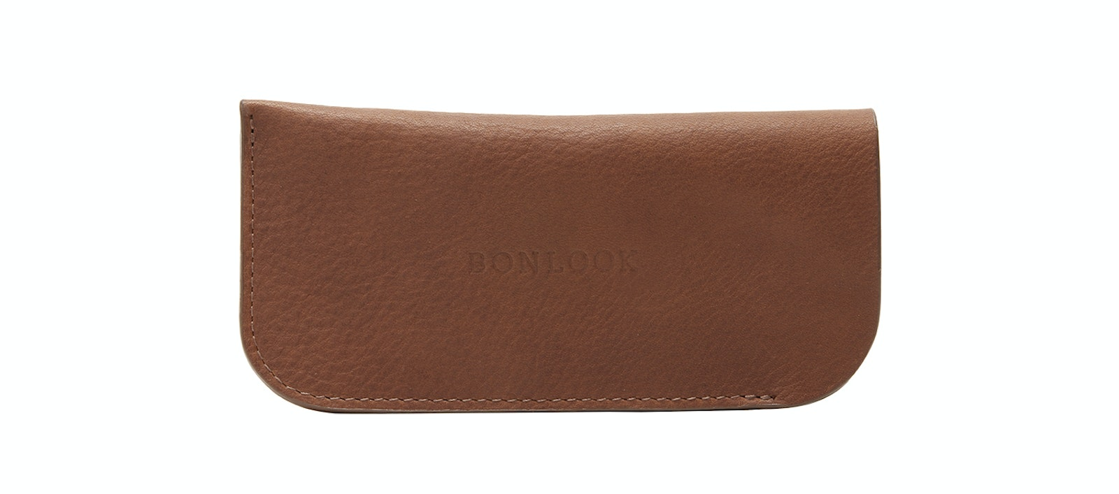 Affordable Fashion Glasses Accessory Women Sleeve Case  Cognac Front
