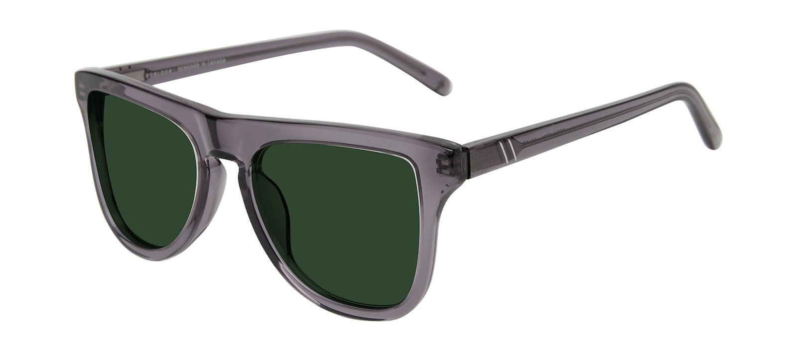 Affordable Fashion Glasses Square Sunglasses Men Social Grey Tilt