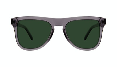 Affordable Fashion Glasses Square Sunglasses Men Social Grey Front