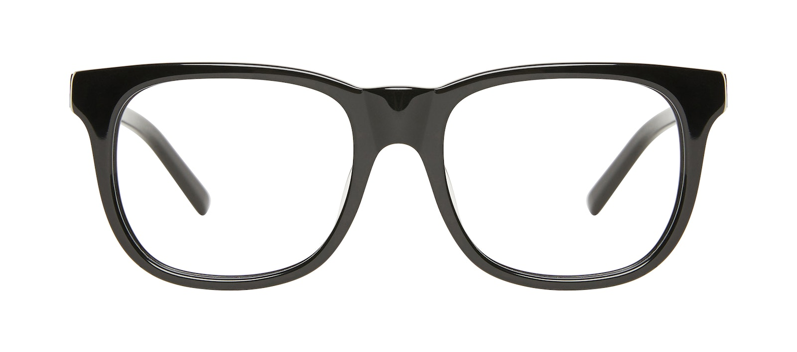 Affordable Fashion Glasses Square Eyeglasses Men Solo Black Front