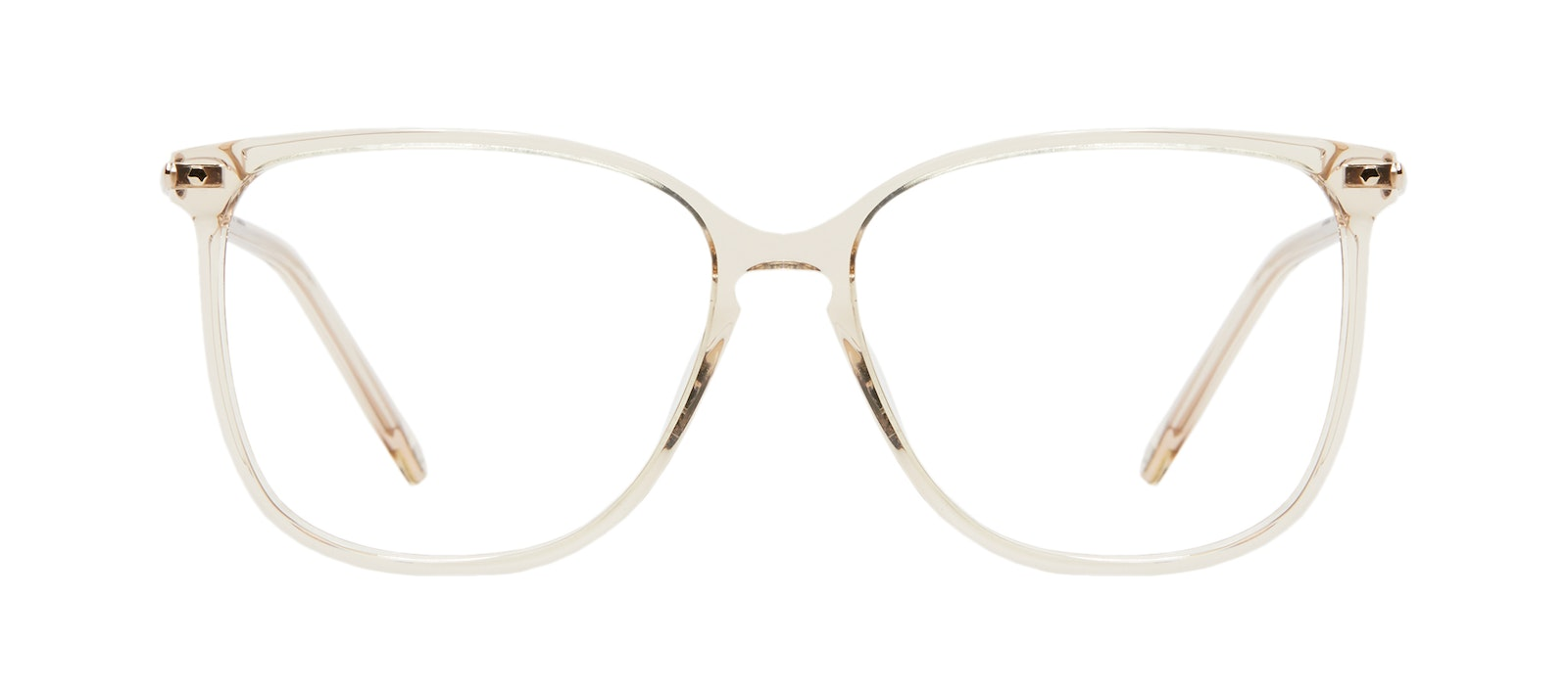 Affordable Fashion Glasses Square Eyeglasses Women Sonia M Blush Front