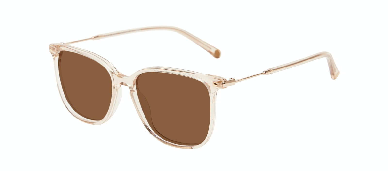 Affordable Fashion Glasses Square Sunglasses Women Sonia Petite Blush Tilt