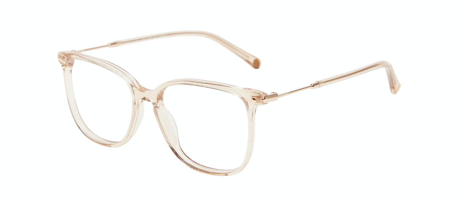 Affordable Fashion Glasses Square Eyeglasses Women Sonia Petite Blush Tilt