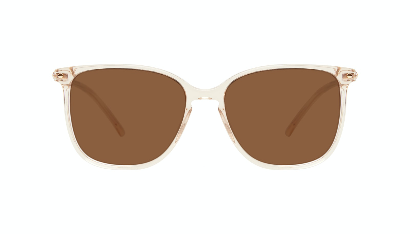 Affordable Fashion Glasses Square Sunglasses Women Sonia Petite Blush