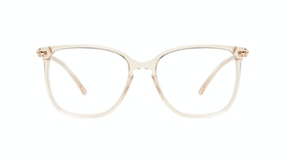 Affordable Fashion Glasses Square Eyeglasses Women Sonia Petite Blush Front
