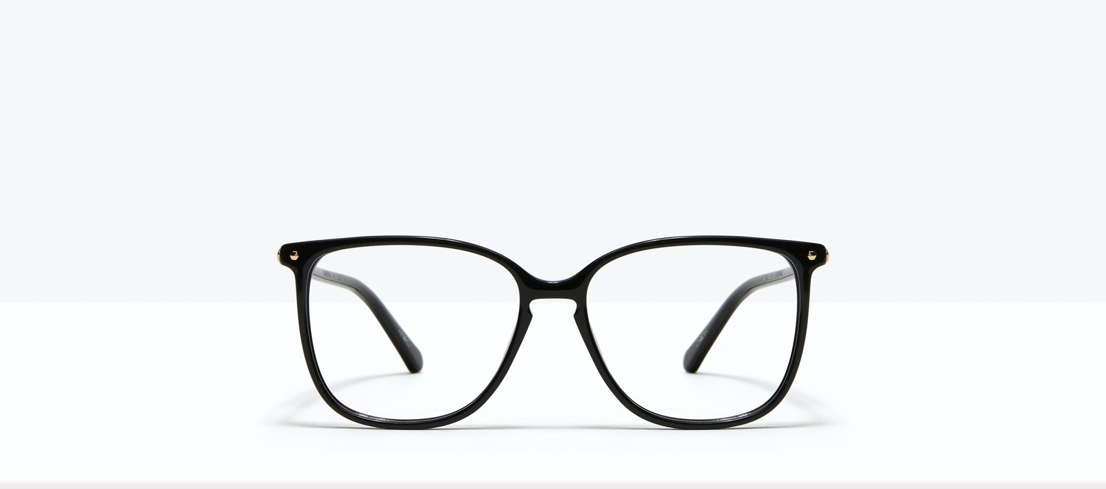 Affordable Fashion Glasses Square Eyeglasses Women Sonia Petite Pitch Black Front