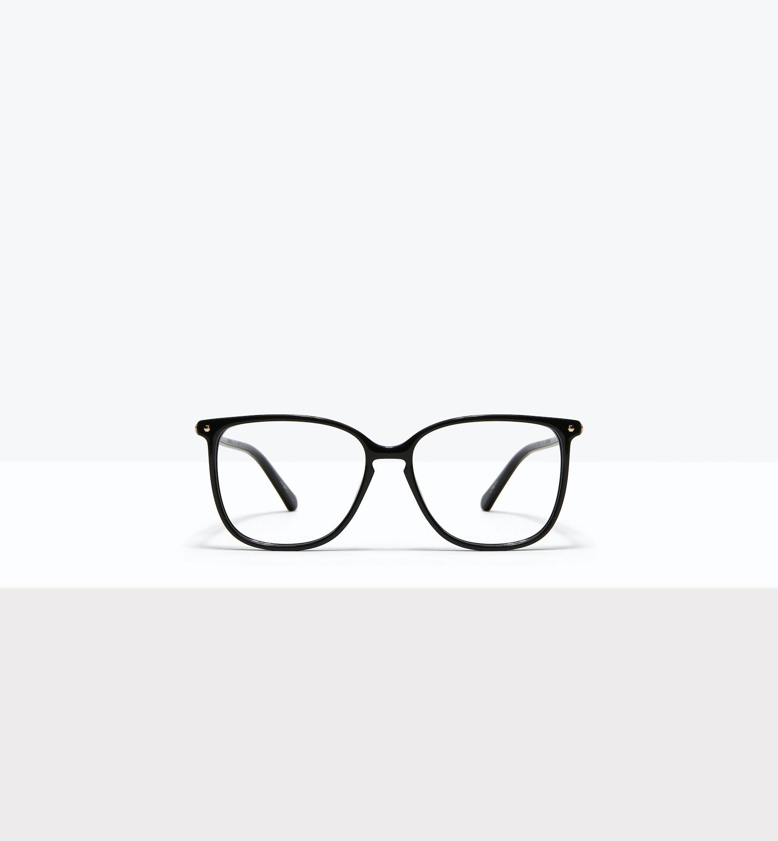 Lunettes tendance Carrée Lunettes de vue Femmes Sonia Petite Pitch Black