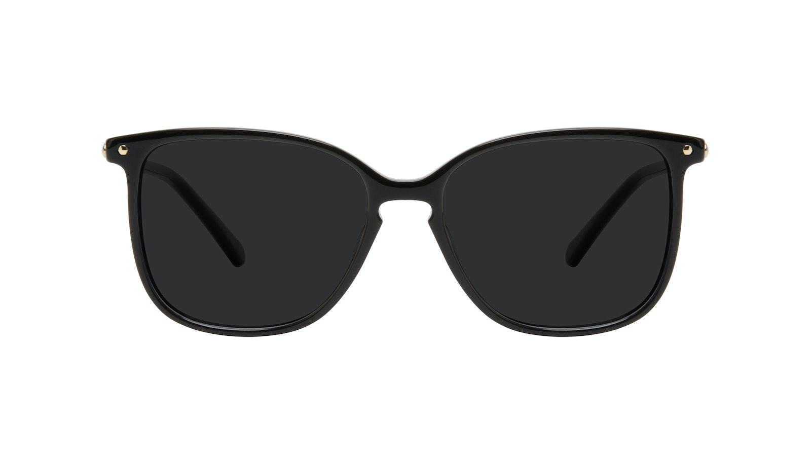 Lunettes tendance Carrée Lunettes de soleil Femmes Sonia Petite Pitch Black