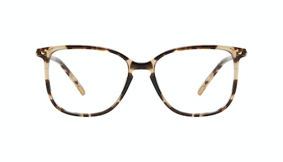Affordable Fashion Glasses Square Eyeglasses Women Sonia XS Snake Skin Front