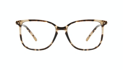 Affordable Fashion Glasses Square Eyeglasses Women Sonia Petite Snake Skin Front