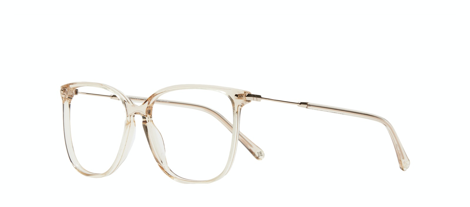 Affordable Fashion Glasses Square Eyeglasses Women Sonia XS Blush Tilt