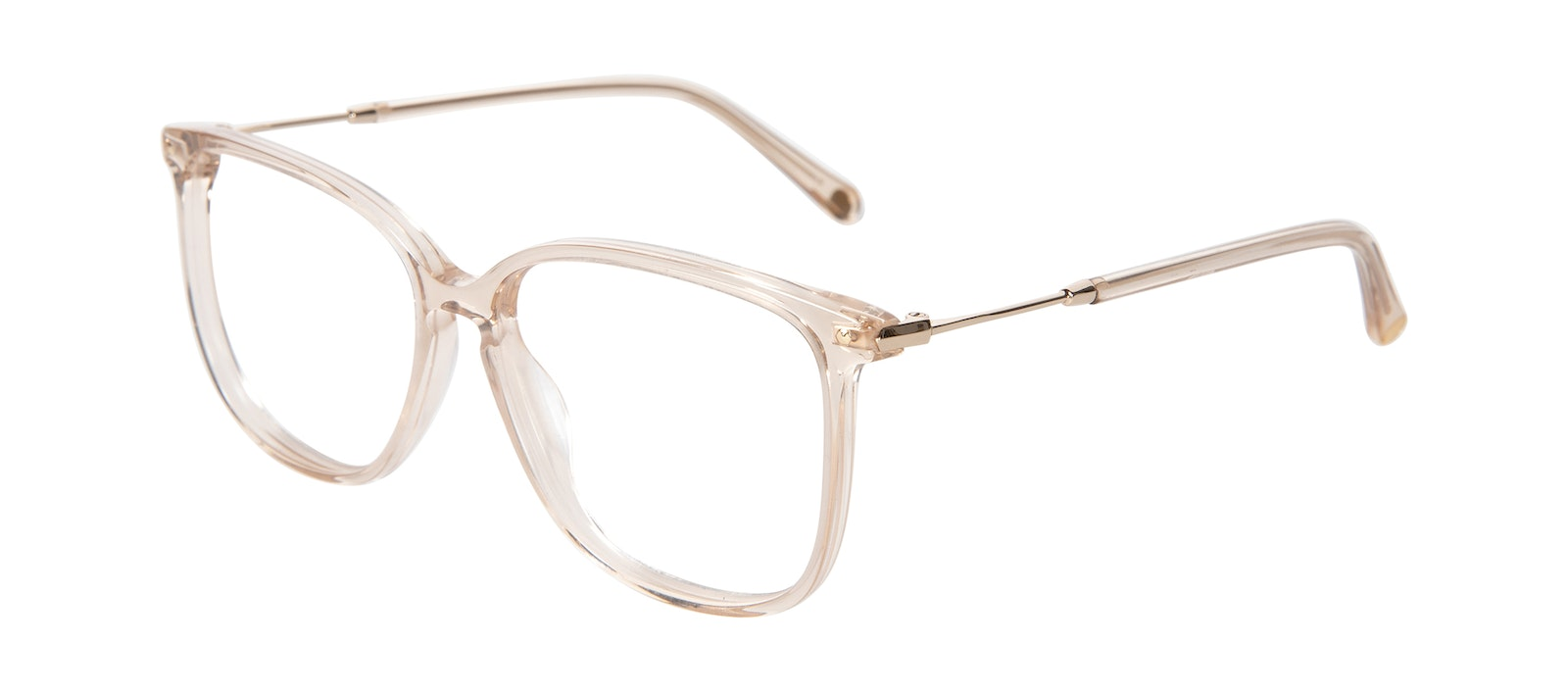 Affordable Fashion Glasses Square Eyeglasses Women Sonia Blush Tilt