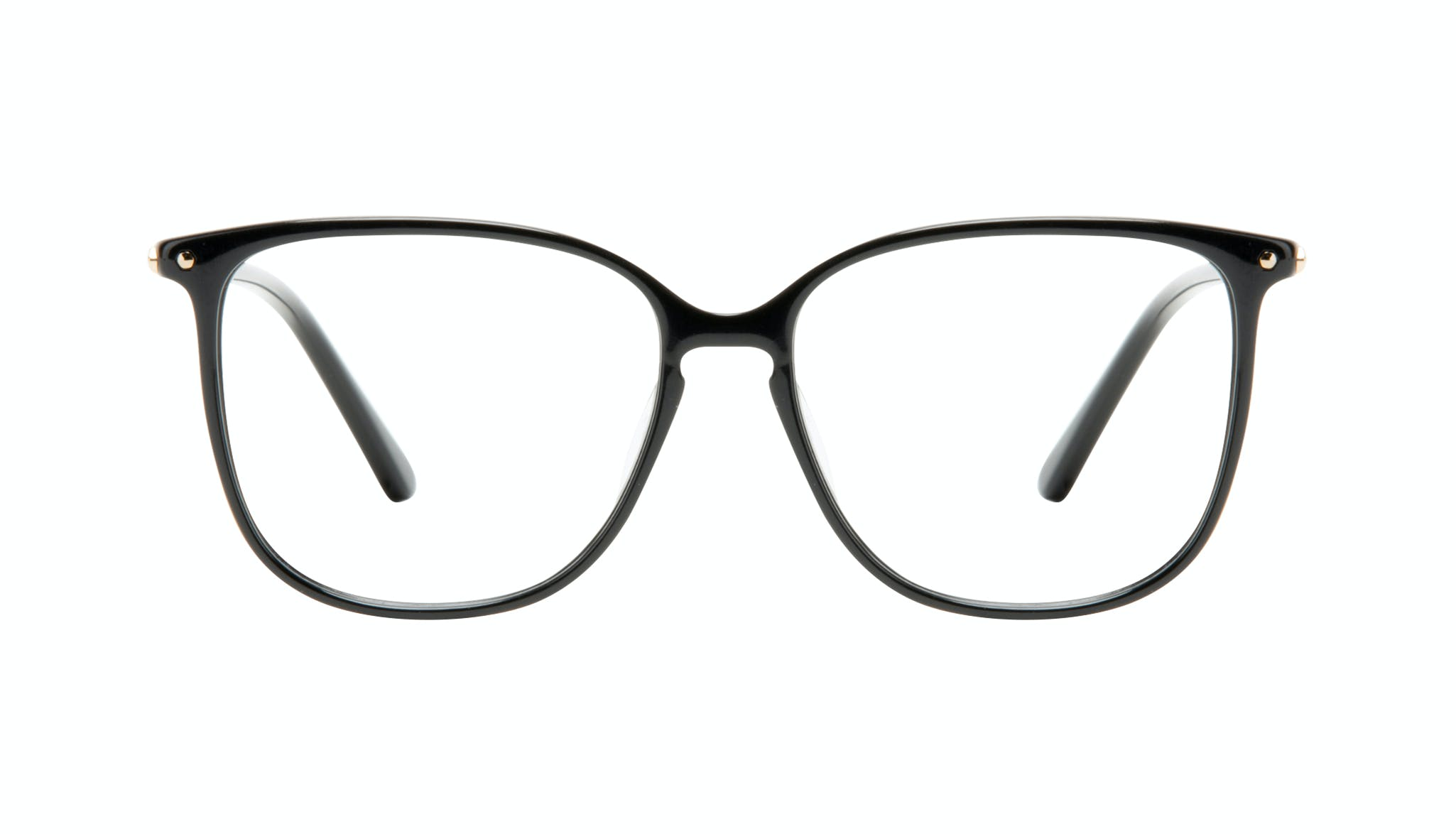 Affordable Fashion Glasses Square Eyeglasses Women Sonia Pitch Black