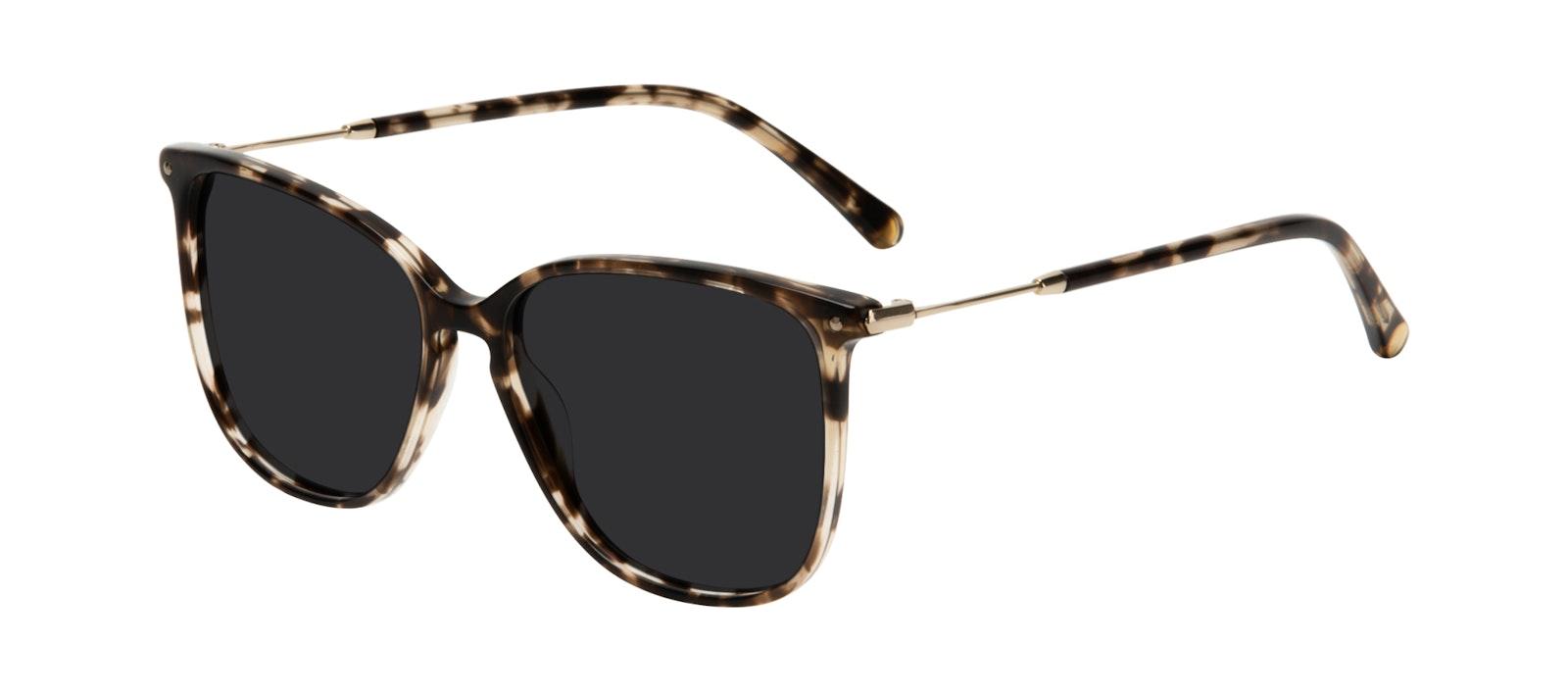 Affordable Fashion Glasses Square Sunglasses Women Sonia Snake Skin Tilt
