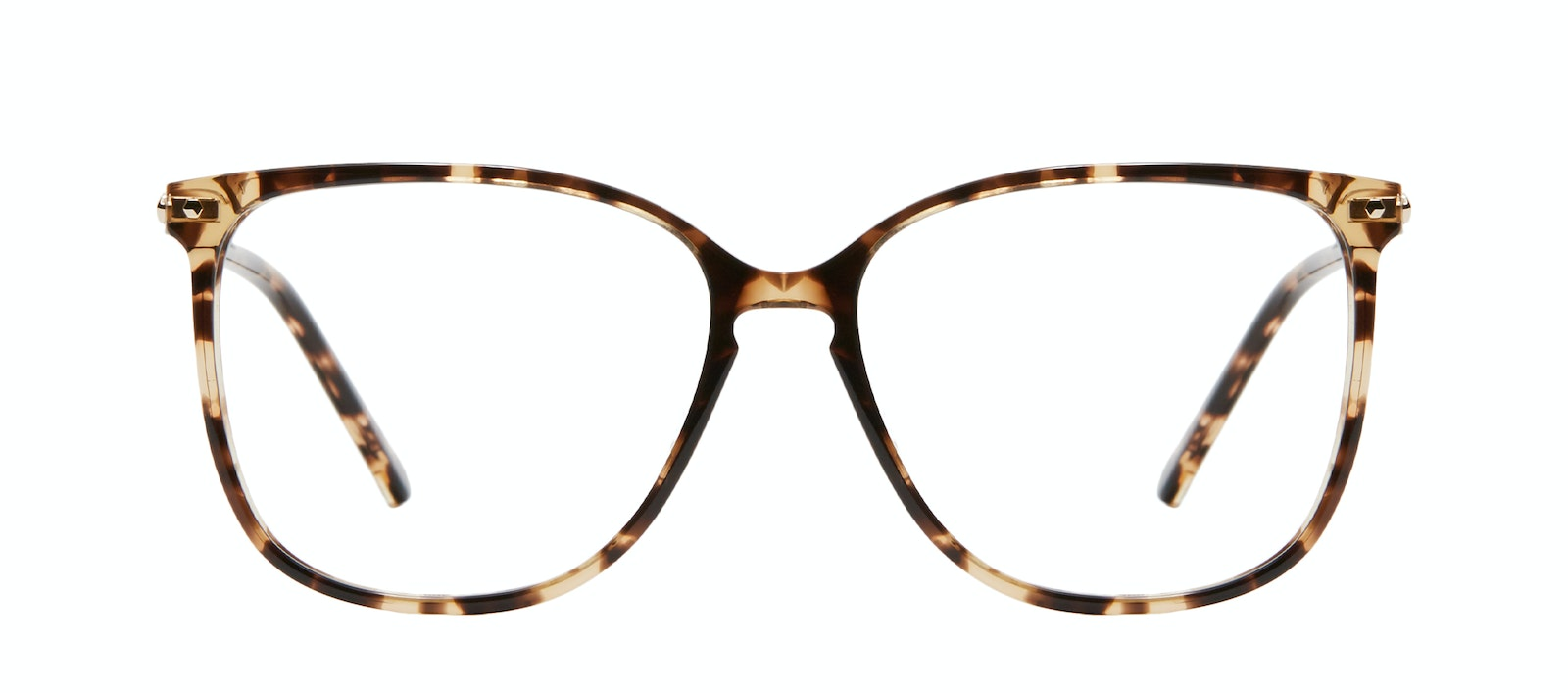 Affordable Fashion Glasses Square Eyeglasses Women Sonia Snake Skin Front
