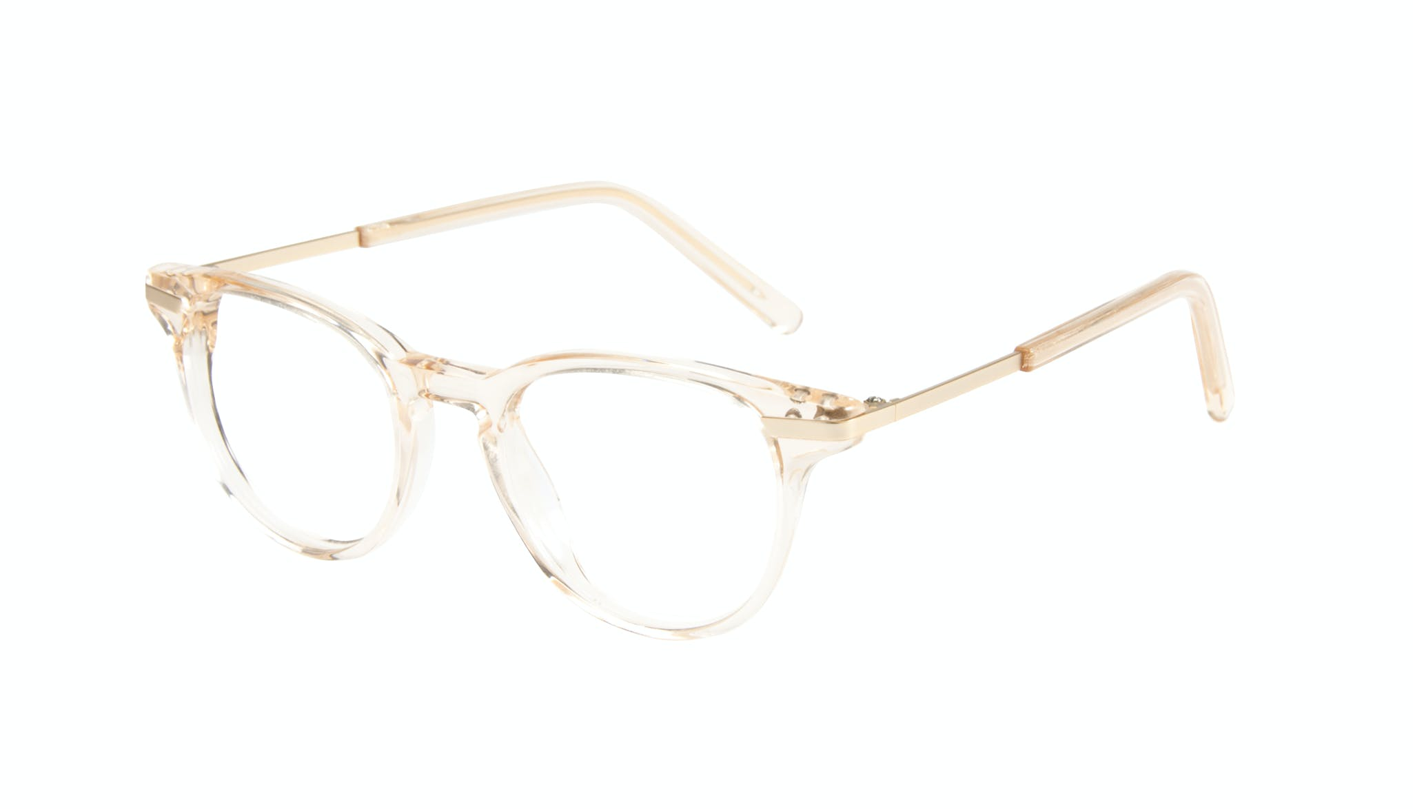 Affordable Fashion Glasses Round Eyeglasses Women Spark Blond Tilt