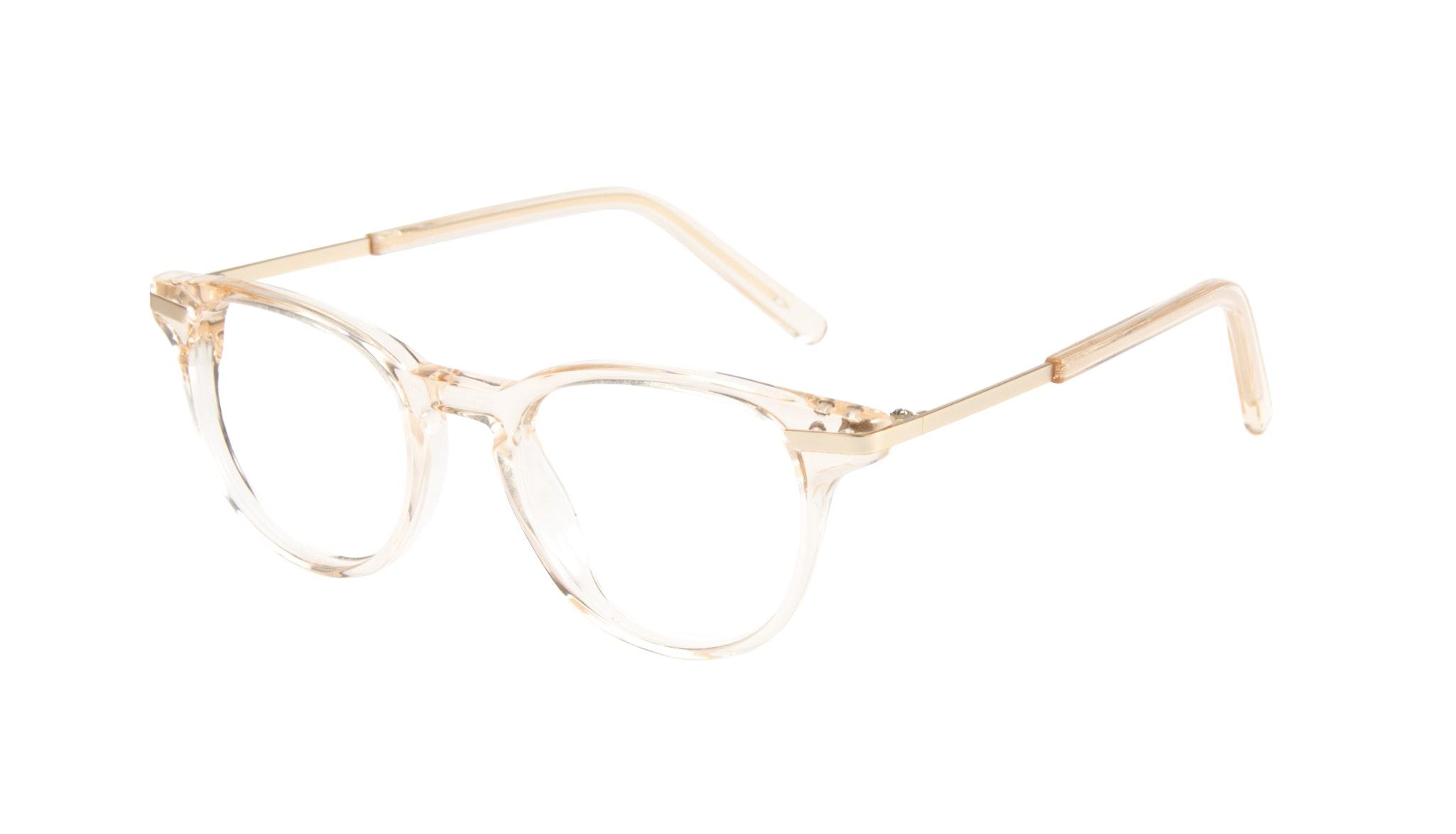 Affordable Fashion Glasses Round Eyeglasses Women Spark Blond Tilt