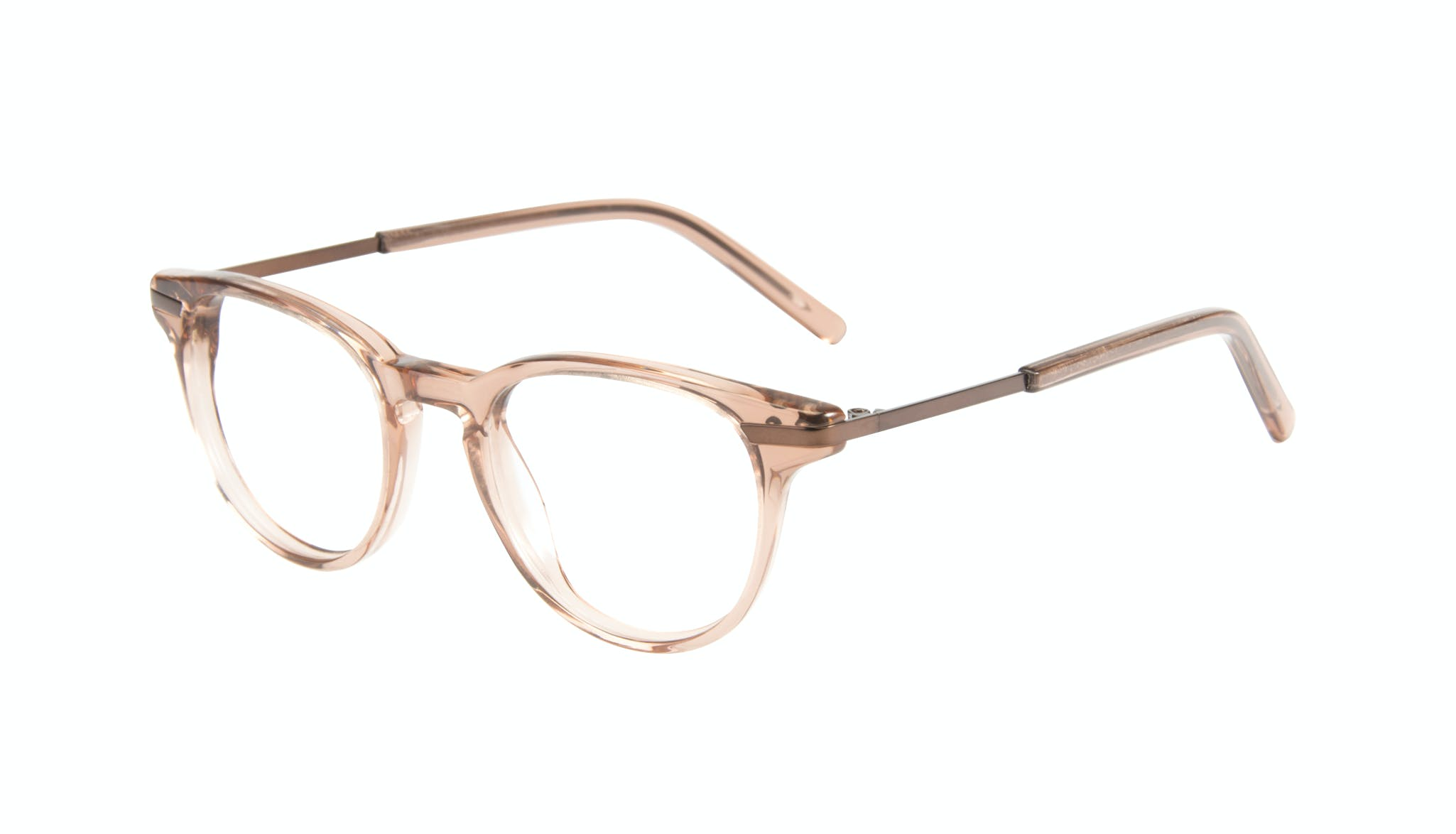 Affordable Fashion Glasses Round Eyeglasses Women Spark Rose Tilt