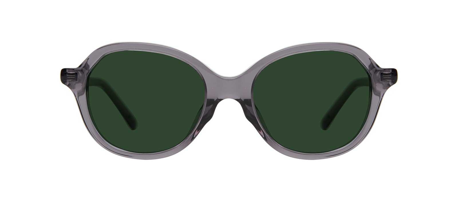 Affordable Fashion Glasses Square Sunglasses Kids Stage Junior Grey Front