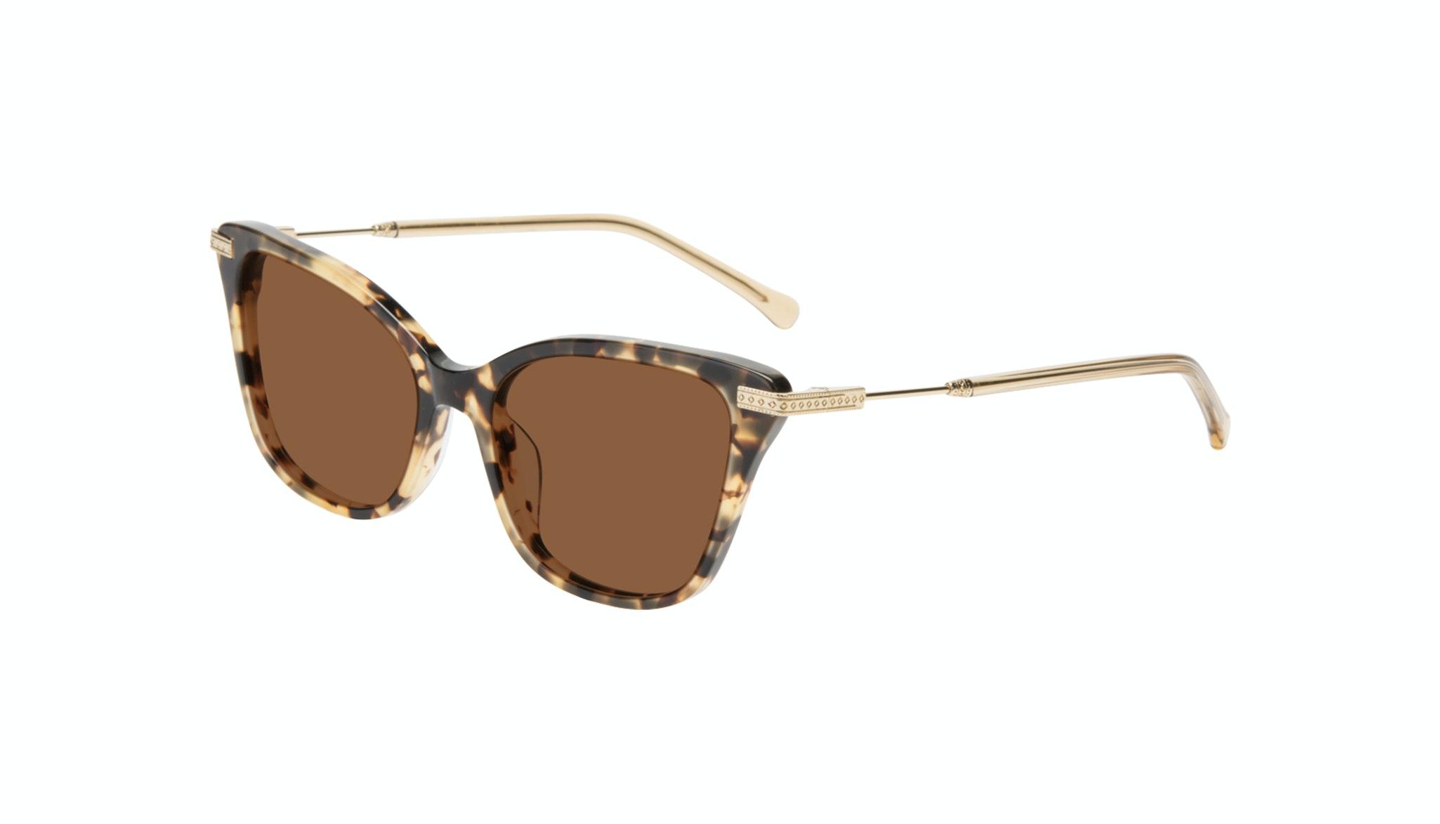 Affordable Fashion Glasses Cat Eye Sunglasses Women Stargaze Golden Chip Tilt
