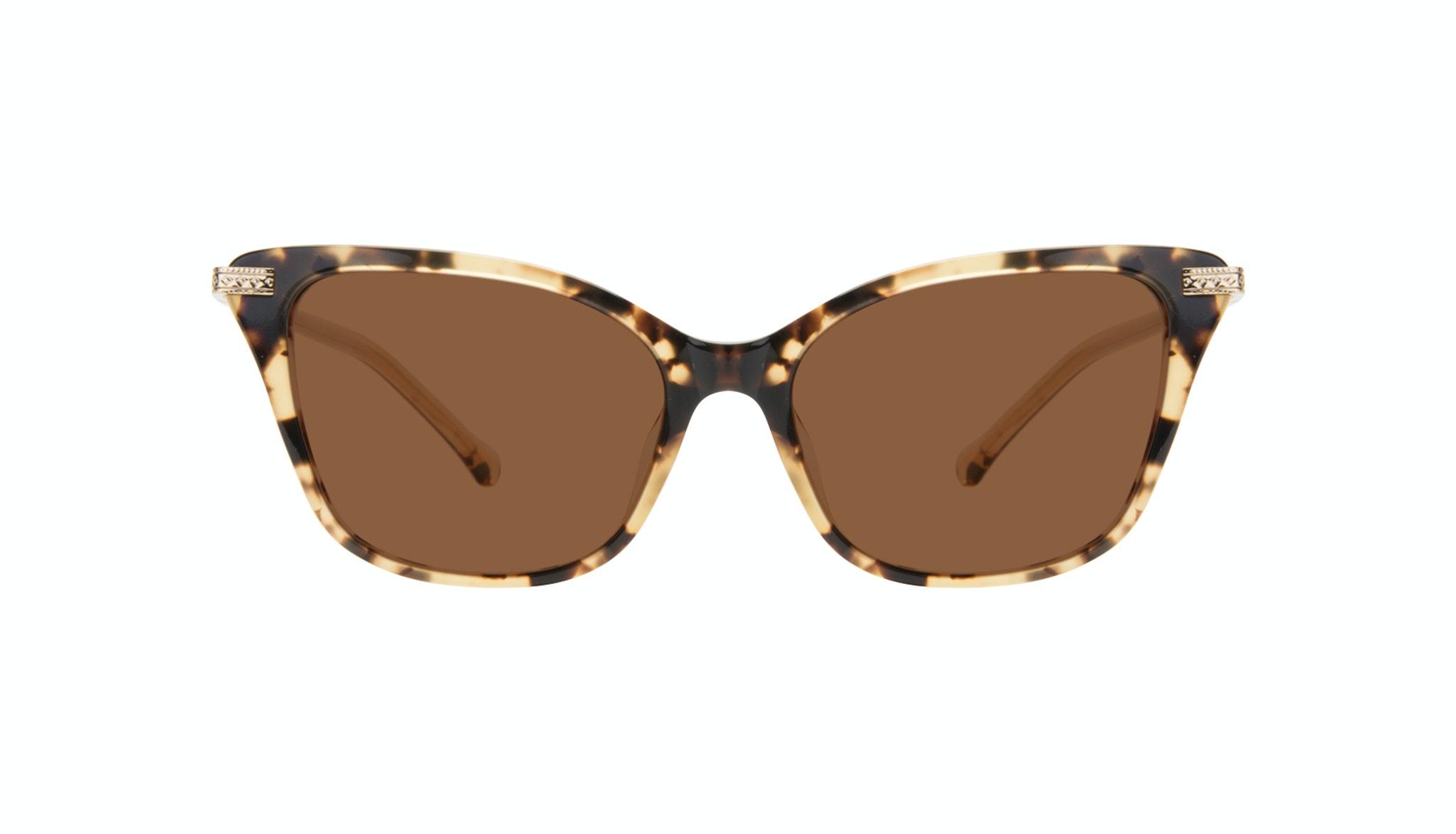 Affordable Fashion Glasses Cat Eye Sunglasses Women Stargaze Golden Chip Front