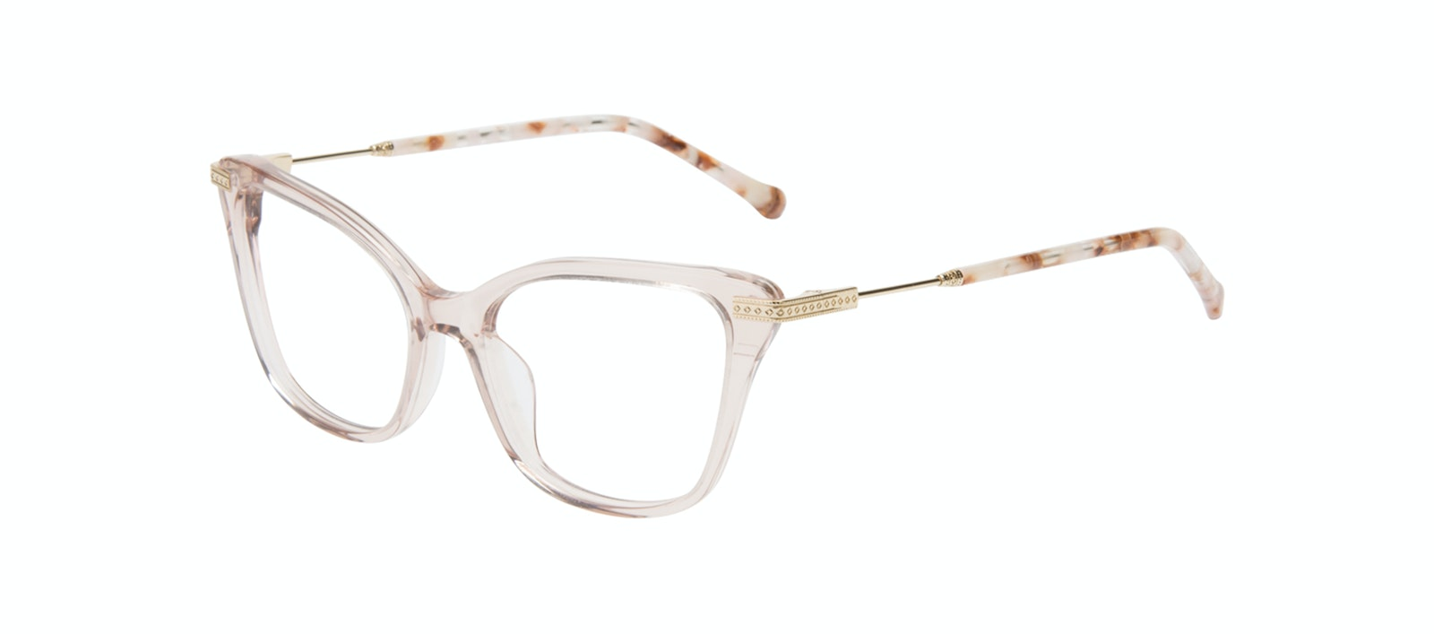 Affordable Fashion Glasses Cat Eye Eyeglasses Women Stargaze Pink Quartz Tilt