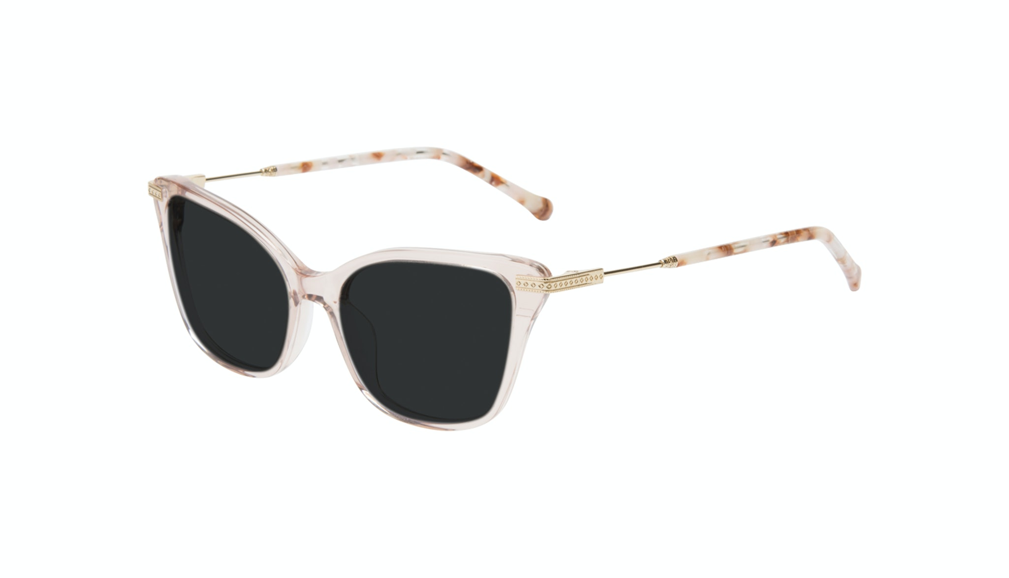 Affordable Fashion Glasses Cat Eye Sunglasses Women Stargaze Pink Quartz Tilt