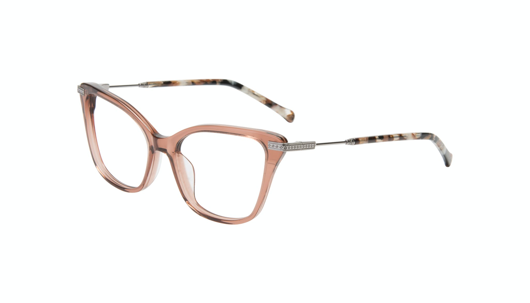 Affordable Fashion Glasses Cat Eye Eyeglasses Women Stargaze Truffle Rose Tilt