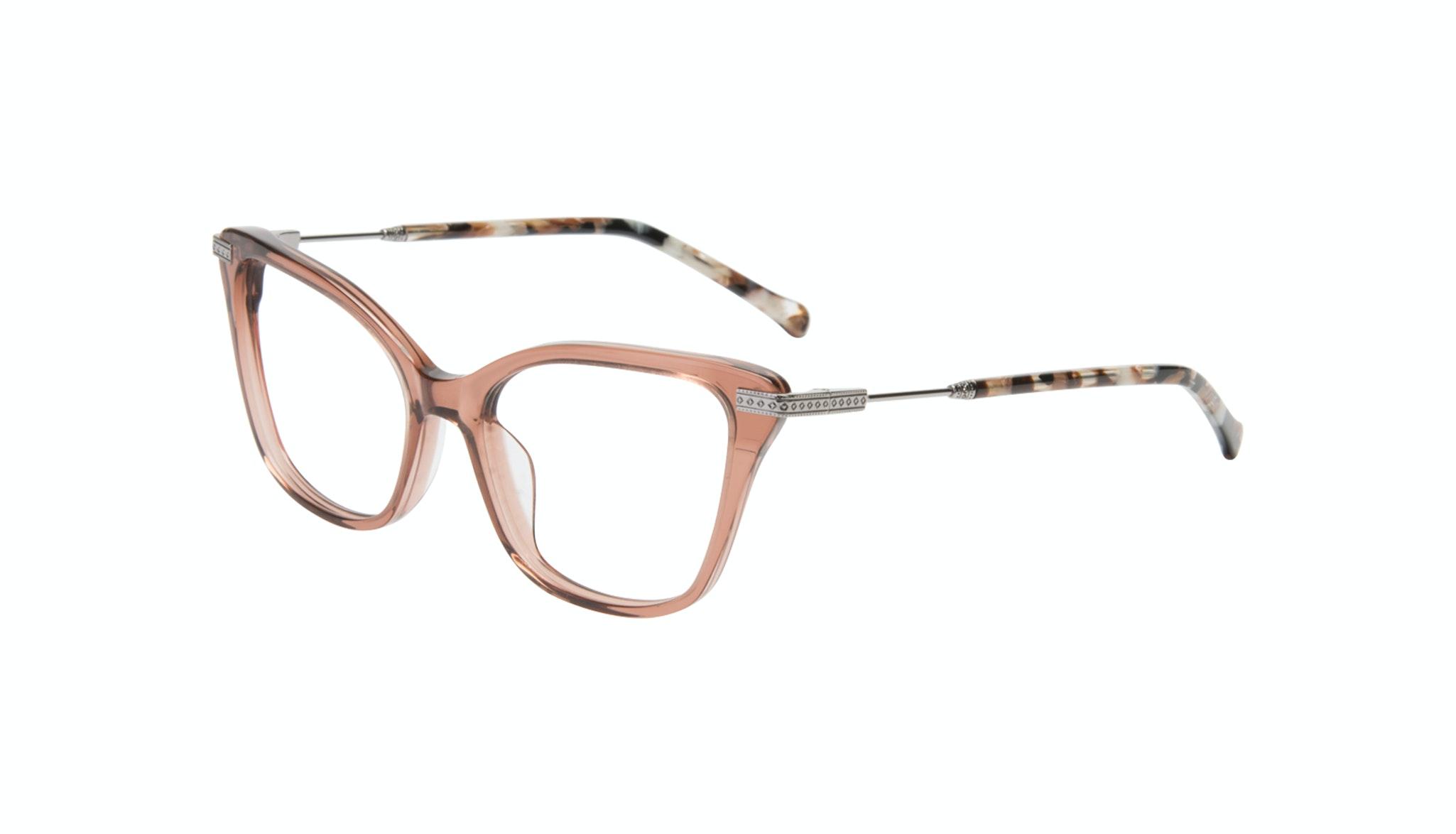 Affordable Fashion Glasses Cat Eye Eyeglasses Women Stargaze Truffle Rose Tilt