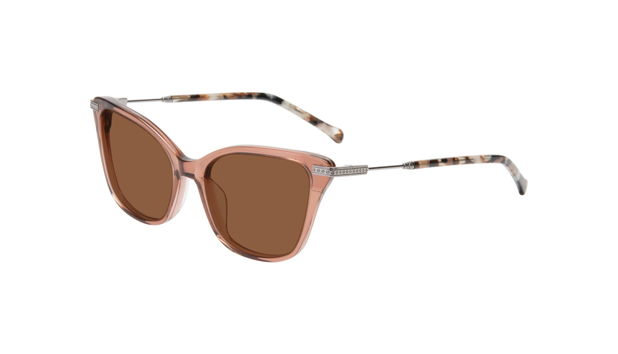 Affordable Fashion Glasses Cat Eye Sunglasses Women Stargaze Truffle Rose Tilt