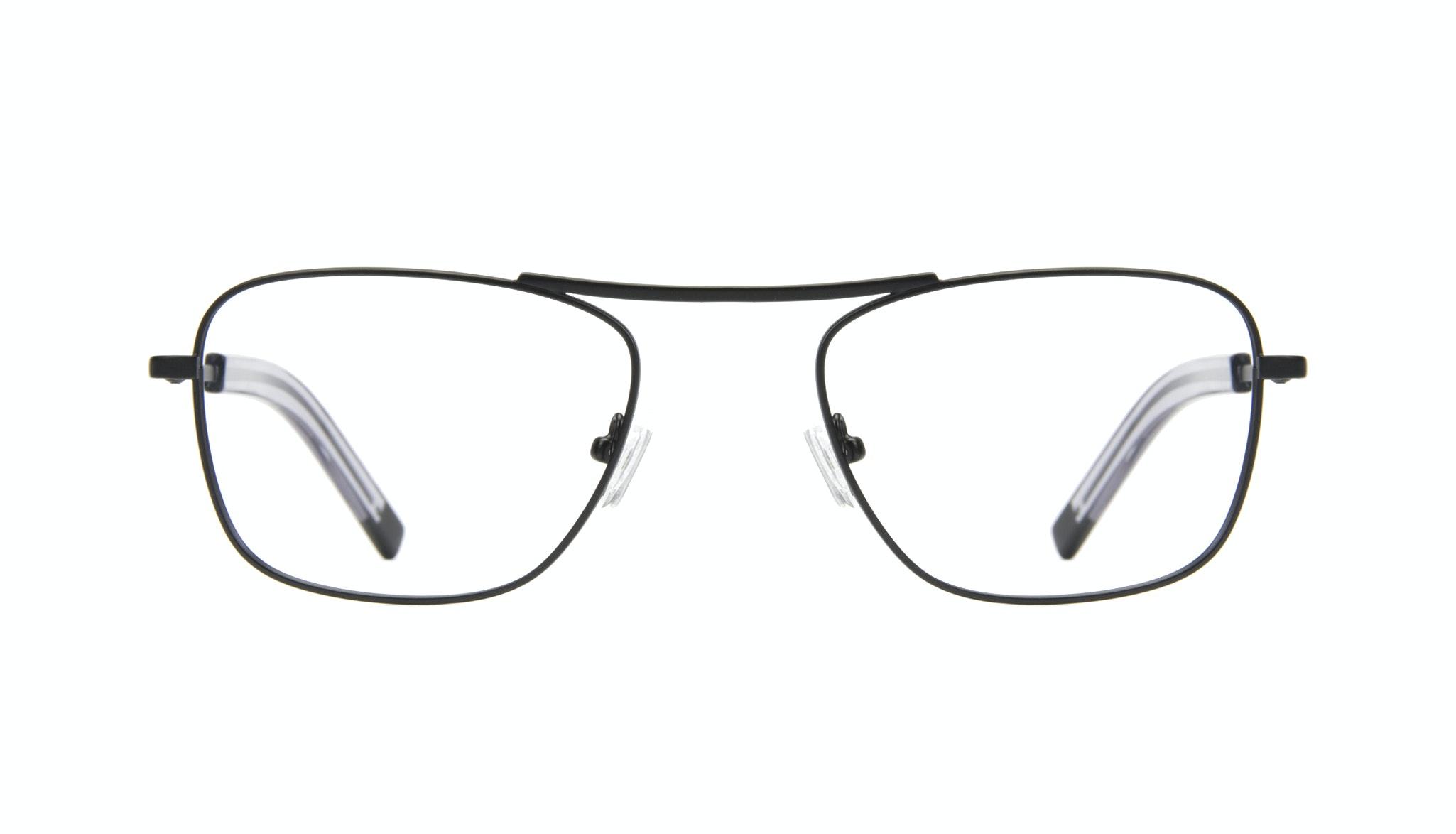 Affordable Fashion Glasses Aviator Rectangle Eyeglasses Men Stark Matt Black