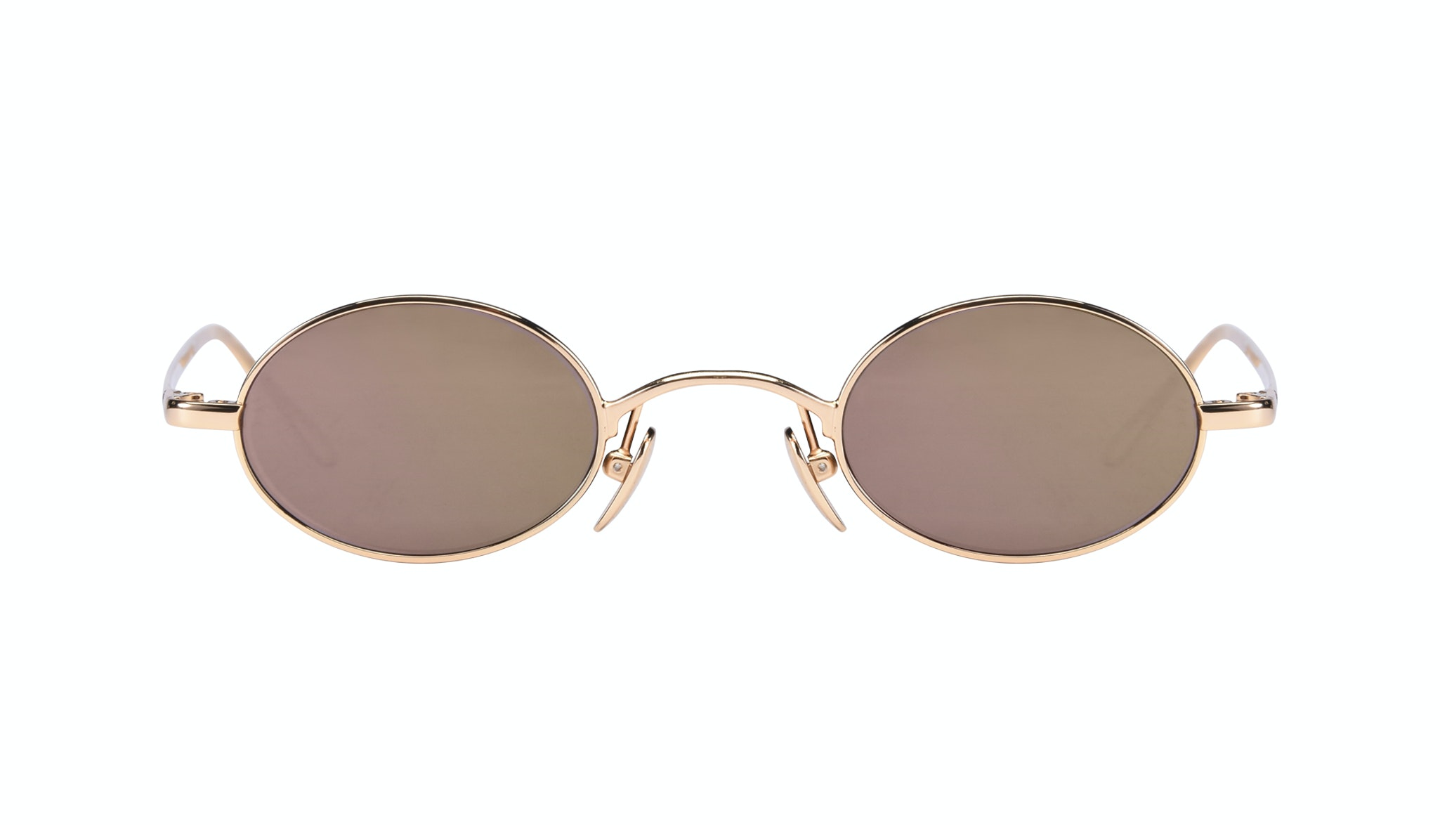 Affordable Fashion Glasses Round Sunglasses Women Stellar Gold