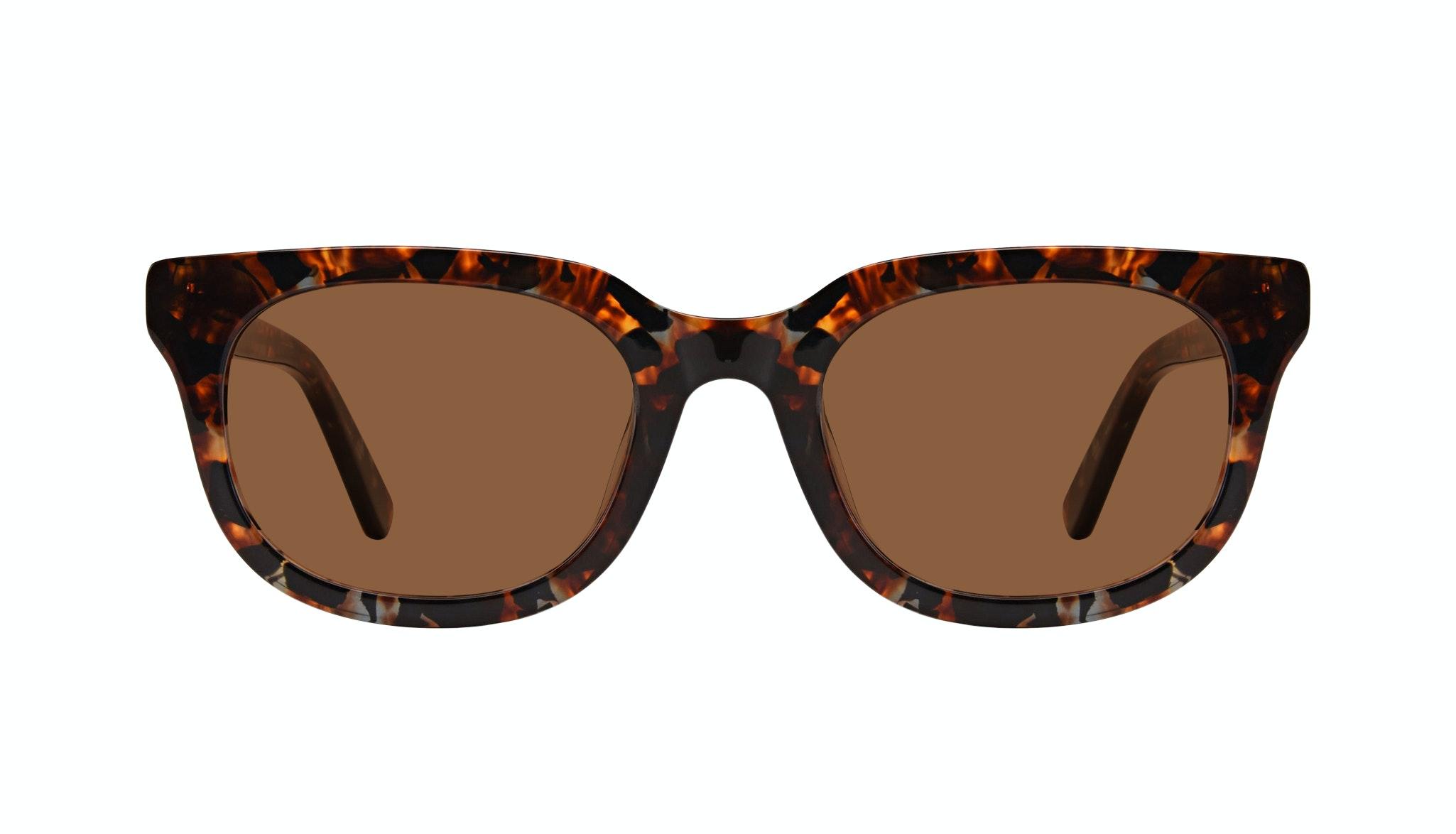 Affordable Fashion Glasses Square Sunglasses Men Stout Mahogany