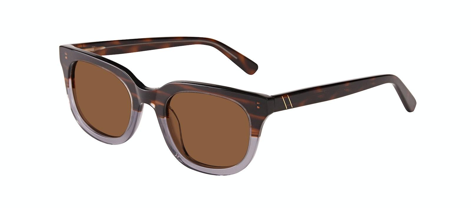 Affordable Fashion Glasses Square Sunglasses Men Stout Storm Tilt