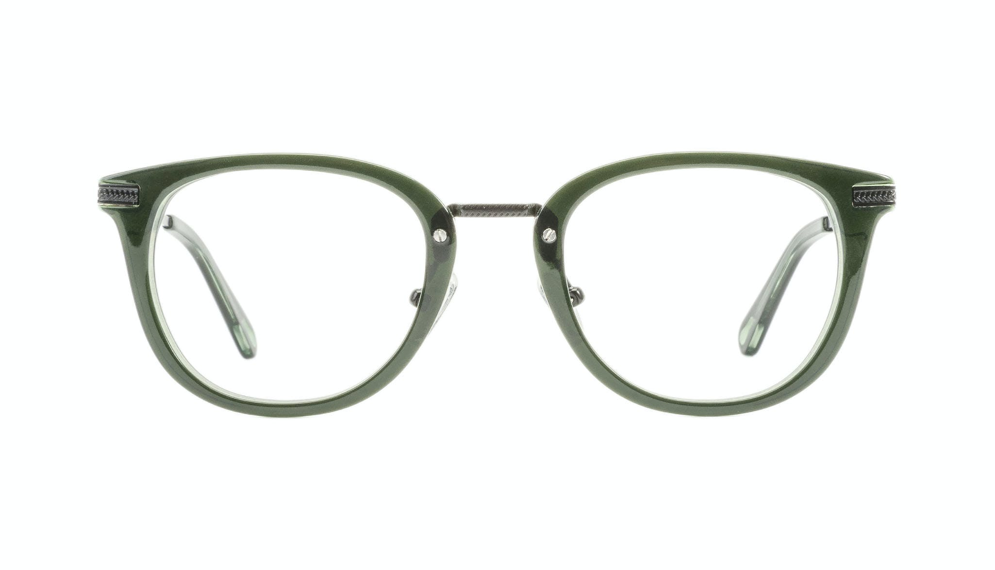 Affordable Fashion Glasses Rectangle Square Eyeglasses Men Street Soul Olive