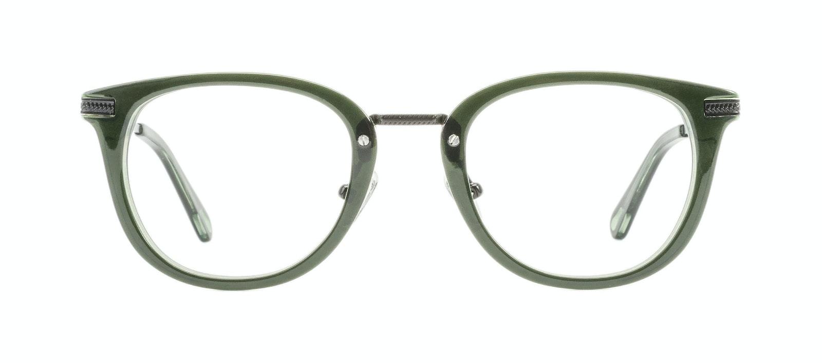 Affordable Fashion Glasses Rectangle Square Eyeglasses Men Street Soul Olive Front