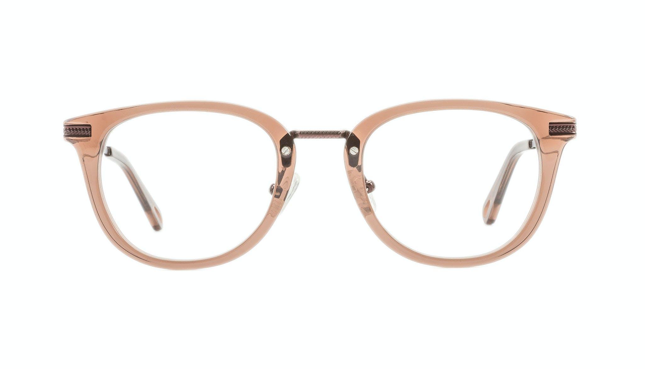 Affordable Fashion Glasses Rectangle Square Eyeglasses Men Street Soul Chestnut Front