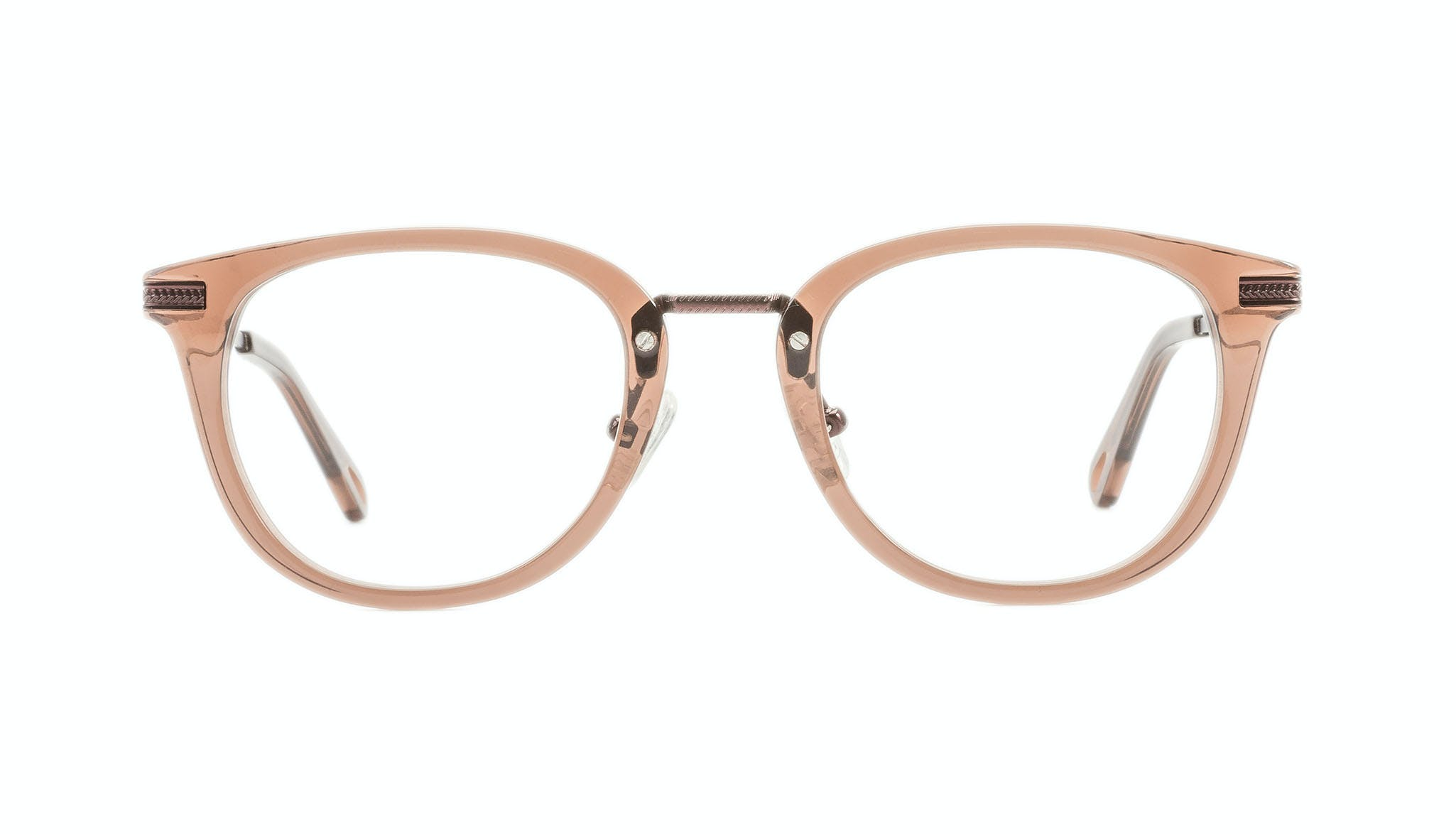 Affordable Fashion Glasses Rectangle Square Eyeglasses Men Street Soul Chestnut Front