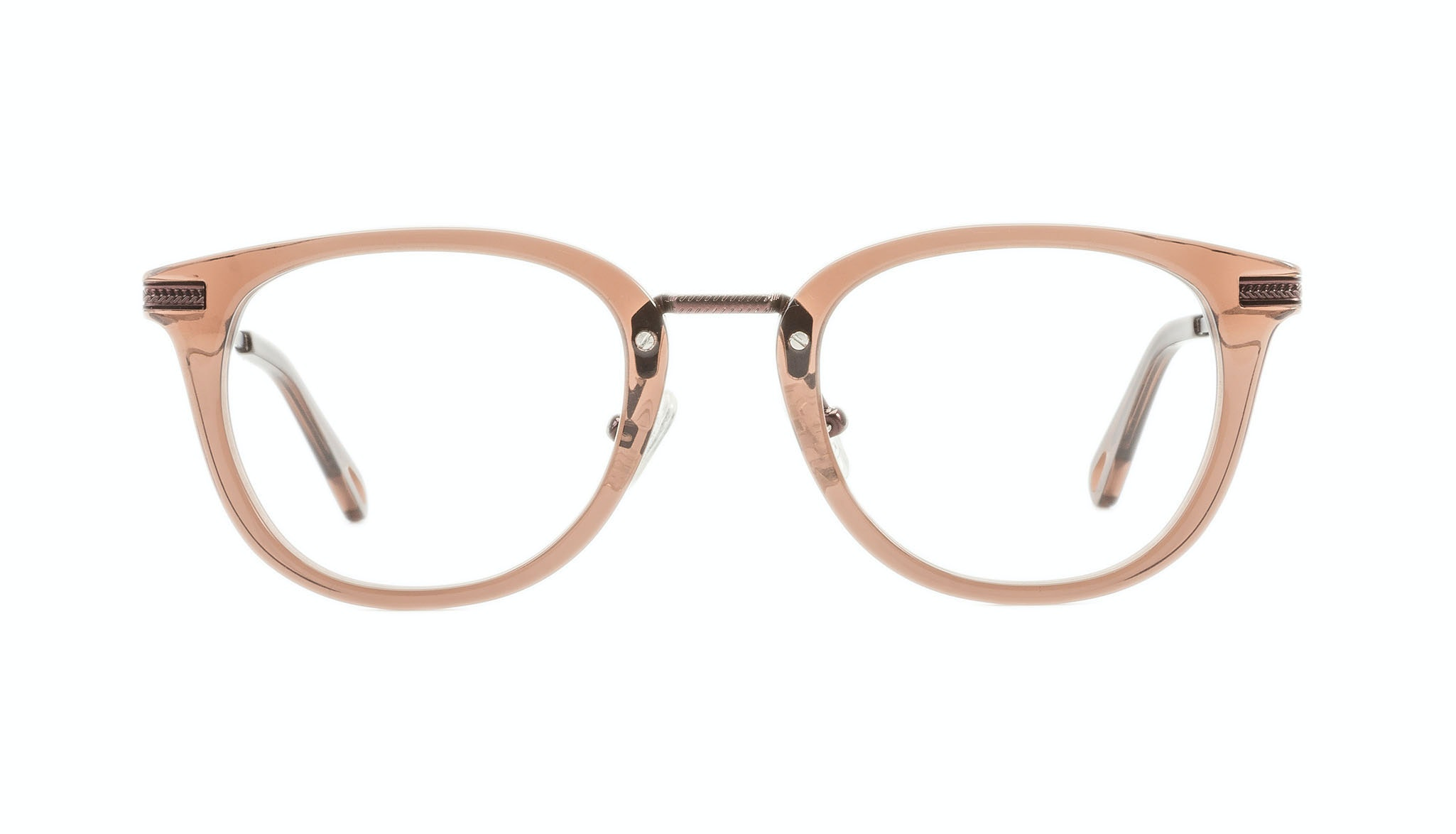 Affordable Fashion Glasses Rectangle Square Eyeglasses Men Street Soul Chestnut