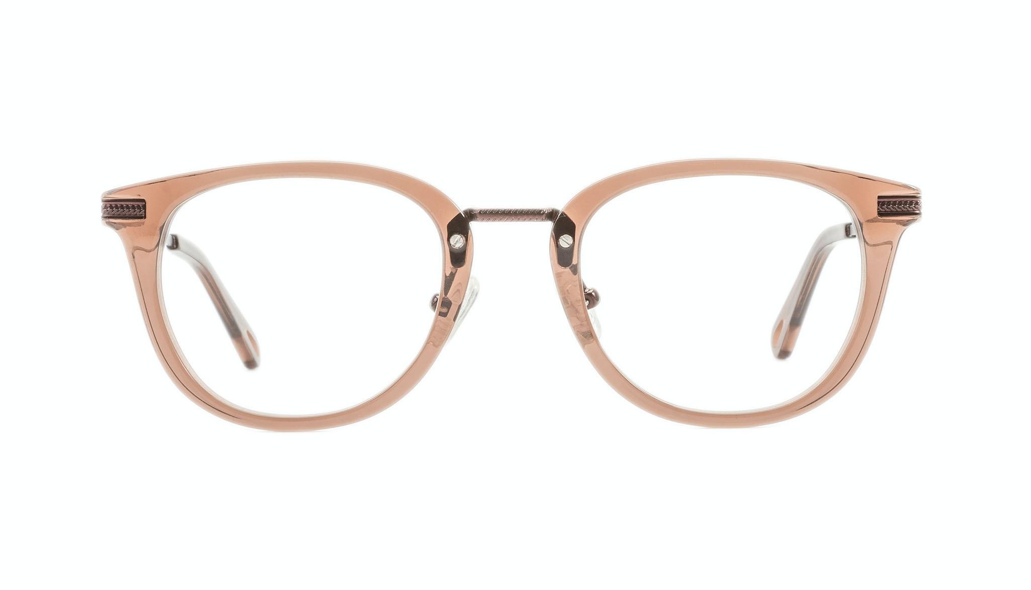 Affordable Fashion Glasses Rectangle Square Eyeglasses Men Street Soul Chestnut