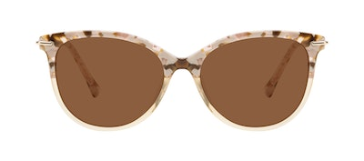 Affordable Fashion Glasses Round Sunglasses Women Sublime Blond Flake Front
