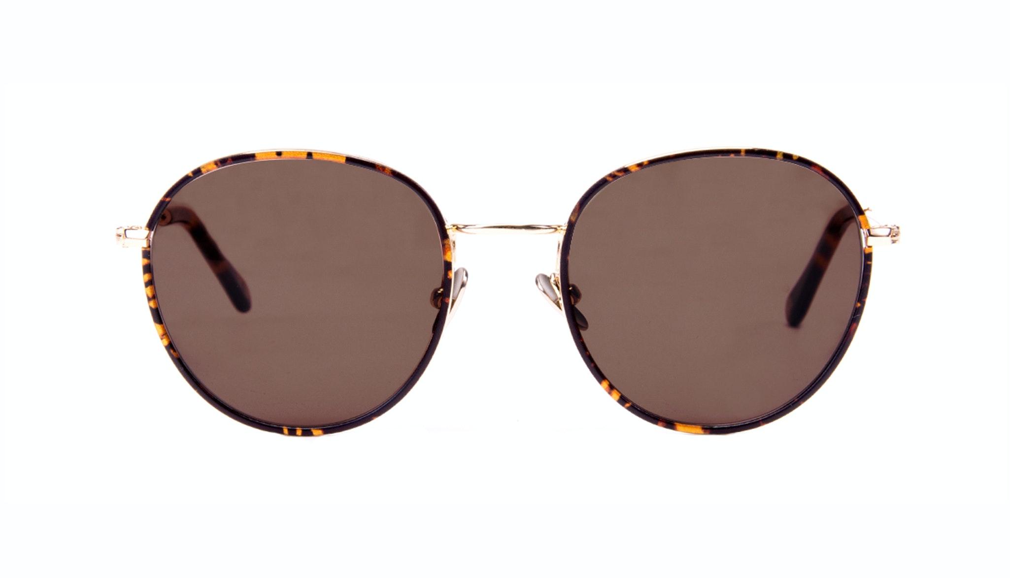 aviator round sunglasses  Women\u0027s Sunglasses - Subrosa in Fauve